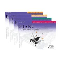 Faber Piano Adventures Primer Level Learning Library Pack...