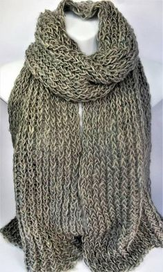Check out this item in my Etsy shop https://www.etsy.com/uk/listing/531713275/beige-extra-wide-scarf-recycled-wool