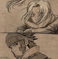 Naruto// Sasuke and Sakura