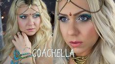 FESTIVAL HAIR AND MAKEUP IDEAS #COACHELLA #MUSICFESTIVAL #FESTIVALMAKEUP #RAVE #EDM