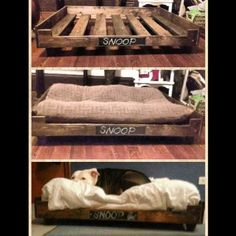 pam and i made this dog bed for my great dane, bama | stuff we