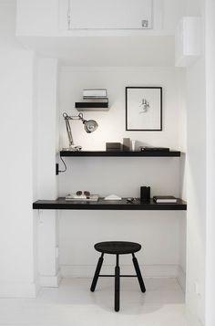 Minimalism office [ ArtOfGolf.com ] #decor #art #golf