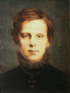 Franz von Lenbach - Crown Prince Rudolf (1873)