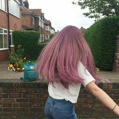 Inspiring Pastel Hair Color Ideas – My hair and beauty Dye My Hair, Your Hair, Aesthetic Hair, Cool Hair Color, Purple Hair, Ombre Hair, Hair Inspo, Hair Looks, Pretty Hairstyles