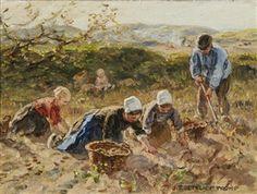 The potato gatherers By Jan Zoetelief Tromp