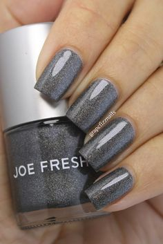 grape fizz nails: Joe Fresh Granite Glow