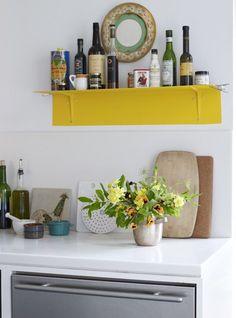 nature, dream kitchen, fresh flowers, shelv, homes