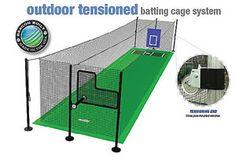 tension batting cage