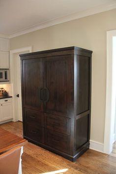 Custom Sub Zero Refrigerator and Freezer - traditional - refrigerators and freezers - denver - Chalet