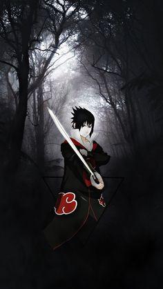 Sasuke Akatsuki, Naruto Shippuden Sasuke, Naruto Kakashi, Anime Naruto, Wallpaper Naruto Shippuden, Naruto Wallpaper, Naruto Sage, Anime Ninja, Naruto Fan Art