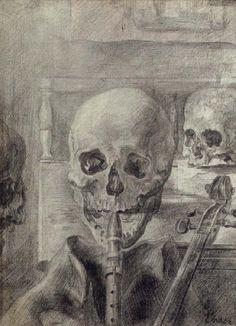 james ensor art | James Ensor Skeleton Musicians