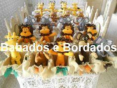 Babados & Bordados: Safari com cachepô de mdf e juta