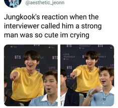 Omg I'm crushingly happy and soft about how kookie reacted he's not smug but he's humble and love