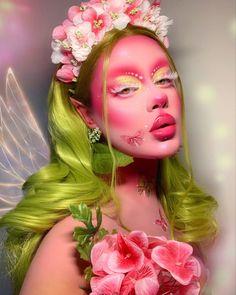 Crazy Makeup, Cute Makeup, Pretty Makeup, Makeup Art, Beauty Makeup, Anime Makeup, Elf Makeup, Cosplay Makeup, Costume Makeup