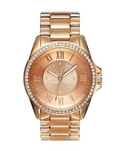 Stella Pink Gold Watch from Juicy Couture. Loving Rose Gold Jewelry lately.