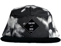 Dark Cloudy 5-Panel Hat by YOUNG KINGS & QUEENS