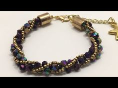 Jewelry-Jewelry Design-The Most Practical-Easy Russian Spiral Bracelet How-To (DETA . Bracelets Diy, Beaded Bracelets Tutorial, Handmade Bracelets, Friendship Bracelets, Necklace Tutorial, Diy Bracelet, Diy Necklace, Diy Schmuck, Schmuck Design