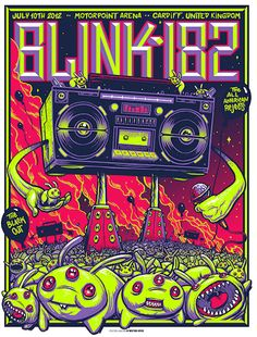 Munk One -- as much as i hate Blink 182 this poster is bad ass