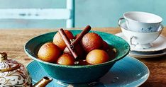 The Adelaide eatery's version of these sweet, syrupy spheres of goodness. Chef Recipes, Asian Recipes, Cinnamon Quill, Jamun Recipe, Gulab Jamun, Vegetarian, Tasty, Treats, Fruit