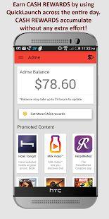 Adme - LockScreen Cash Rewards - make money by using your phone on a regular basis