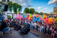 Μουσική, χορός, χρώματα και πολύς κόσμος στο Holi Fest στα Χανιά