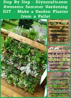 Alternative Gardning: Making a Garden Planter from Pallets