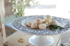 Gourmet rosemary macaroons for #dessert! #recipe #dinnerpartyinsider