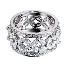 inter twine  rings silver | ... Wedding Bands on Sexy Celebrity Wedding Rings Picture Of Fashion 2010