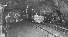 American Salt and Coal mine in Lyons Kansas