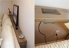 Utilize The Space Behind The Sofa With Diy Sofa Tables - Utilize The Space Behind The Sofa With Diy Sofa Tables Page Ritely Say Farewell To Spilled Wine With This Cheap And Easy Diy Behind The Couch Table Skip The Saw Work And Have Your Ikea Furniture, Living Room Furniture, Furniture Design, Timber Furniture, Furniture Cleaning, Simple Furniture, Smart Furniture, Furniture Showroom, Steel Furniture