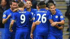 Leicester City 3-0 Burnley - BBC Sport
