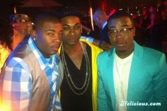 May 16, 2013 — American Idol finalists Curtis Finch, Jr. (Season 12) left; Joshua Ledet (Season 11) center; Burnell Taylor (Season 12) right at private finale after party. W Hotel. Hollywood. photo credit: Ifelicious