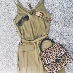 Safari girl flatlay, including treats from Lanvin and Tom Ford! www.franky-says.com