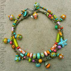Perles de Bohème , perles à la lampe ...