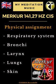 Artist 👉 My Meditation Music , Album 👉 Merkur Hz Cis - Planetary assignment: Mercury - Chakra: - Frequency: Hz - Sound: cis - Colors: Blue- Green - Zodiac Sign: Gemini / Virgo - Meridians: Lung meridian