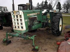 Oliver 1755 tractor salvaged for used parts. This unit is available at All States Ag Parts in Black Creek, WI. Call 877-530-2010 parts. Unit ID#: EQ-25393. The photo depicts the equipment in the condition it arrived at our salvage yard. Parts shown may or may not still be available. http://www.TractorPartsASAP.com