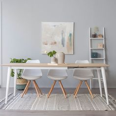 Invite your friends and family round for dinner and steal the show with our Eiffel Inspired Range. Oh and your cooking of course! Bjursta Table, Multipurpose Furniture, Dinner Room, Small Apartment Decorating, Living Room Colors, Round Dining Table, Dining Chairs, Dining Room Design, Home Decor Accessories
