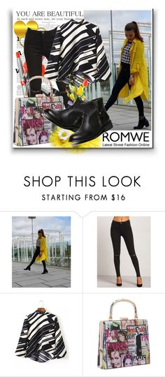 """Romwwe 5"" by danijela-3 ❤ liked on Polyvore featuring romwe"