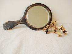 Vintage Hand Mirror by TheTealLark