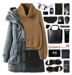 """""""SAMMYdress 10"""" by novalikarida ❤ liked on Polyvore featuring Forever 21, Casetify, Smythson, Givenchy, Superior, Christian Dior, NARS Cosmetics, H&M, Edward Bess and women's clothing"""