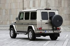 Mercedes-Benz G-Klasse Guard (W463) by Auto Clasico, via Flickr
