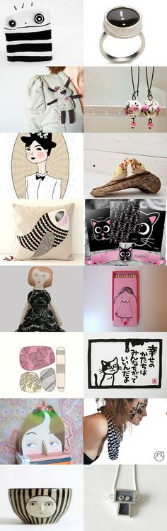 faces by Paola Fornasier on Etsy--Pinned with TreasuryPin.com