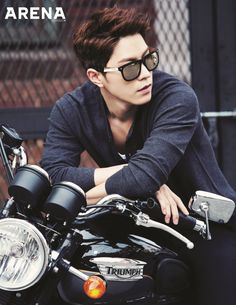 Hong Jong Hyun - Arena Homme Plus Magazine April Issue '15