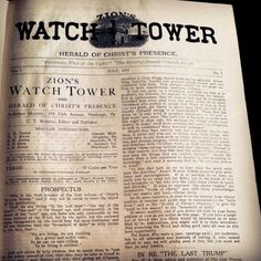 Zion's Watch Tower July 1879