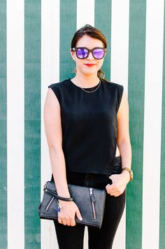 All black outfit   Petite Fashion Monster