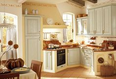 Built-in Country Kitchen