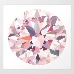diamond+Art+Print+by+Kazuma+Shimizu+-+$18.72