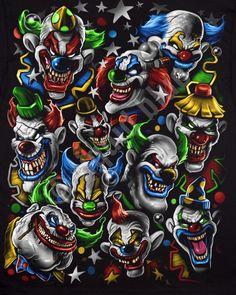 The 11 Crazy Psycho Clowns