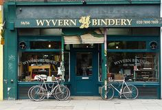 Bookbinder's Shop: Clerkenwell Road, uk