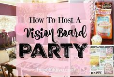 Kicking off a brand new year that brims with possibility feels worthy of celebration. What better way to start the year off than with Vision Board Party! Check out 6 tips to host an amazing Vision Board Party you and your guests will remember for years to come!